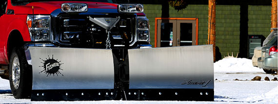 FISHER XTREMEV SNOW PLOW