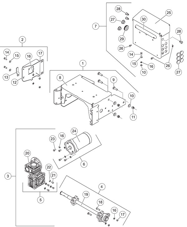 Fisher Steel-Caster Conveyor Drive Components