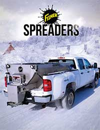 Fisher Salt Spreader Information