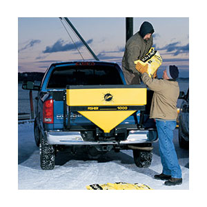 FISHER MODEL 1000 TAILGATE SALT SPREADER