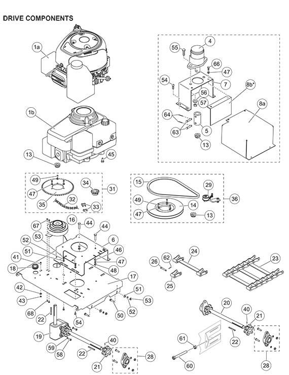 fisher western chain drive kit 95736 pro caster diagram