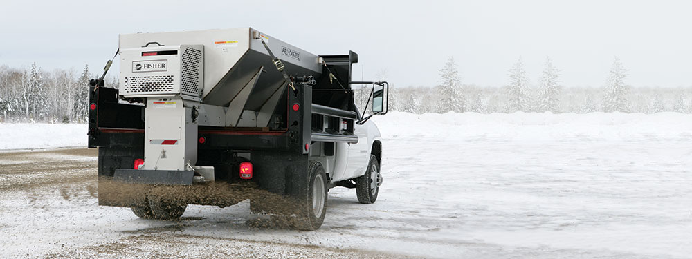 FISHER PRO-CASTER SALT SPREADER