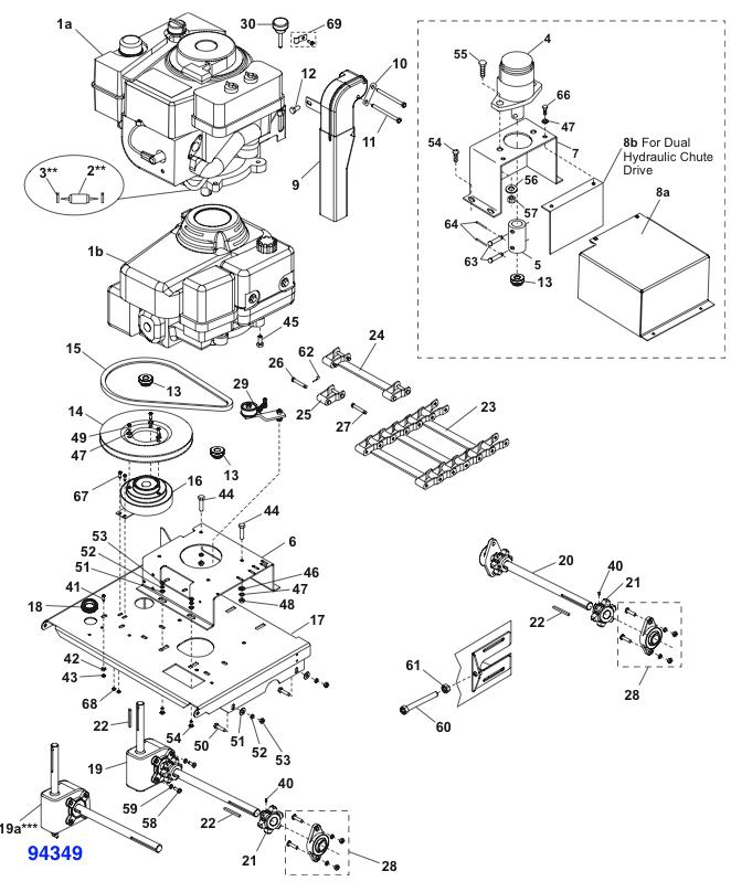 fisher pro caster spreader parts diagram