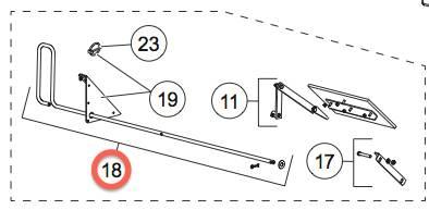 FEEDGATE HANDLE KIT 78094