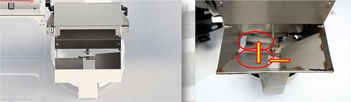 Chute Design - Steel-Caster Hopper Spreader