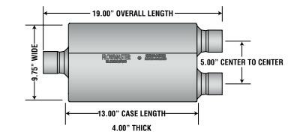 FLOWMASTER 40 SERIES DIAGRAM