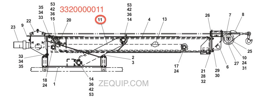 3320000011 3320000011 jerr dan hydraulic cylinder jerr dan light bar wiring diagram at soozxer.org