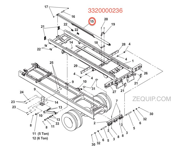 3320000236 1001166856 jerr dan hydraulic cylinder assy 3 00 1 75 x 127 jerr dan light bar wiring diagram at gsmportal.co