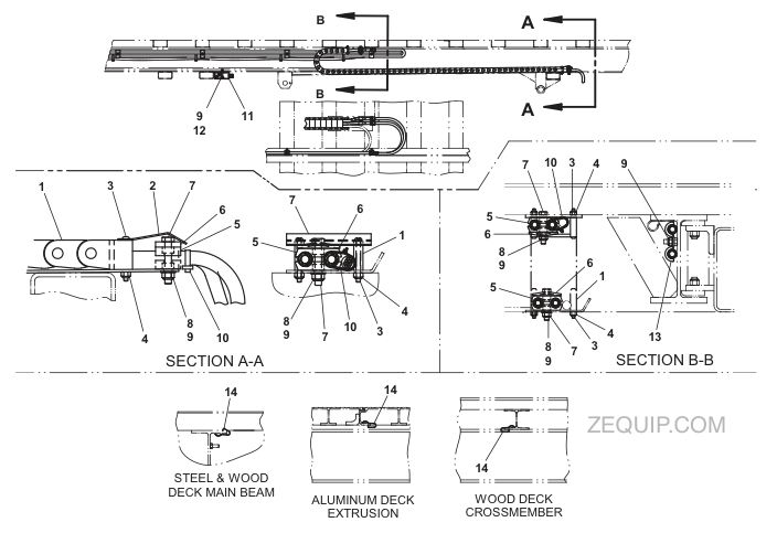 JERR DAN HOSE TRACK kit 21' std duty bic hose trac jerr dan light bar wiring diagram at soozxer.org