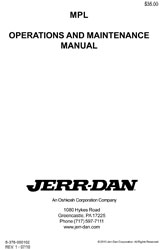 JERR-DAN MPL OPERATIONS MANUAL