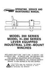 RAMSEY-MODEL-200-PARTS-MANUAL