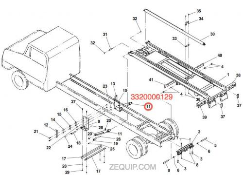 1001167764 jerr dan cylinder assembly 3 50 2 00 x 39 49