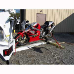 JERR-DAN MOTORCYCLE TOW ATTACHMENT