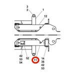 Jerr-Dan 3320000011 Cylinder Assembly