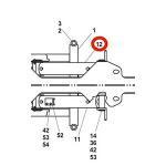Jerr-Dan 3320000012 Cylinder Assembly