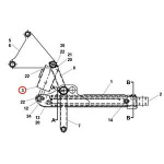 Jerr-Dan 3320000038 Cylinder Assembly
