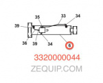 Jerr-Dan 3320000044 Cylinder Assembly