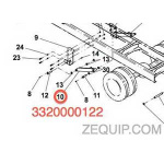 Jerr-Dan 1001166859 Cylinder Assembly