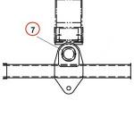 JERR-DAN PIN 2.75 DIA x 5.05 PIVOT 4691000427