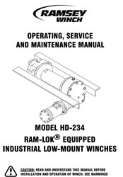 RAMSEY-HD234-MANUAL