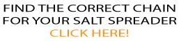 SALT SPREADER CONVEYOR CHAIN FITMENT GUIDE CHART