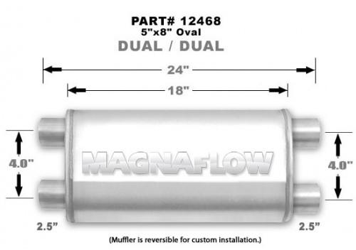 MAGNAFLOW 12468