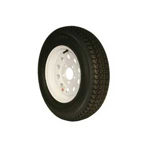 TRAILER TIRE AND WHEEL