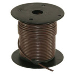 WIRE - 100 FT - 16 GA BROWN