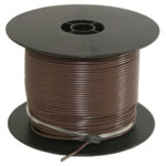 WIRE SPOOL 16 GAUGE 500 FEET BROWN 02377