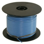 WIRE SPOOL 500FT 16 GAUGE BLUE 02378