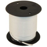 WIRE SPOOL 14 GAUGE WHITE 100 FT 02409