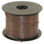 WIRE - 500 FT - 14 GA BROWN