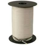 WIRE SPOOL 12 GA  WHITE 500 FT 02473