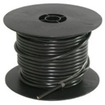 WIRE 100FT 8 GA BLACK SPOOL 02552