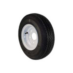 TRAILER TIRE & WHEEL - 8in