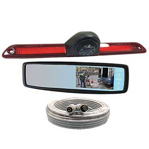 Rosco Vision Rear View Camera Sprinter Van Backup Mirror Monitor System STSK4534