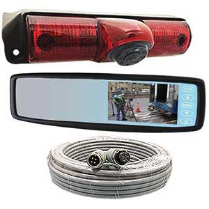STSK4535 Rosco Vision Rear View Camera GM/Chevy Van Backup Mirror Monitor System