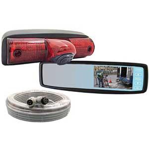 STSK4536 Rosco Vision Nissan NV Van Backup Mirror Monitor System