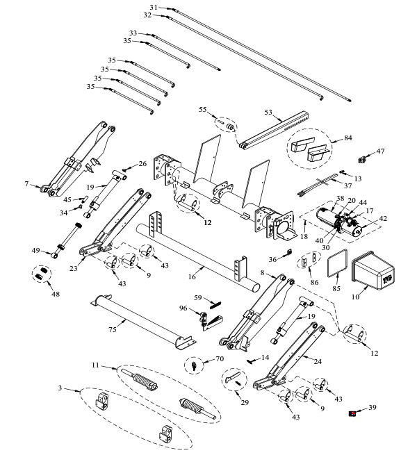 Tommy Gate Tuck Under Parts Diagram