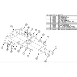 TommyGate R-Fold Hinge Kit 006466