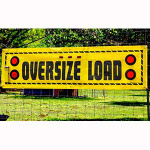 TowMate TMBN8S Lighted Oversize Load Banner