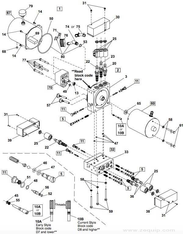 Western Mvp Hydraulic Parts