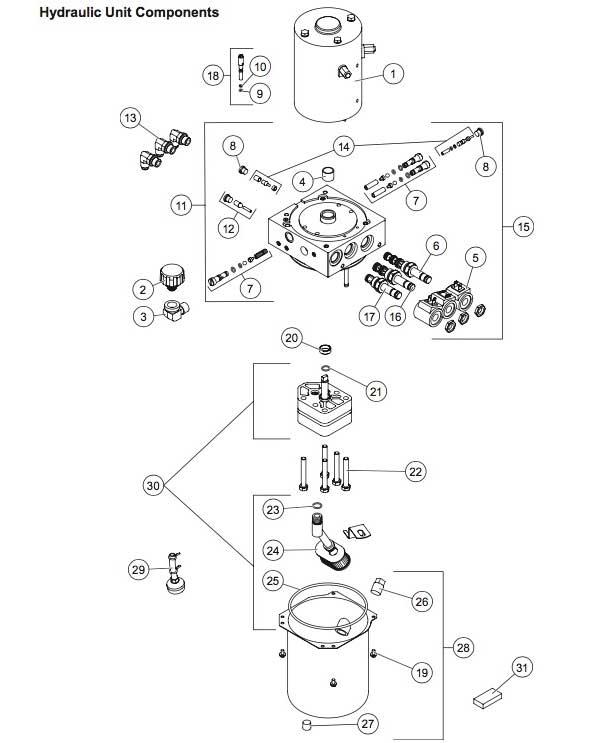 Western Midweight & Pro Diagram Hydraulics