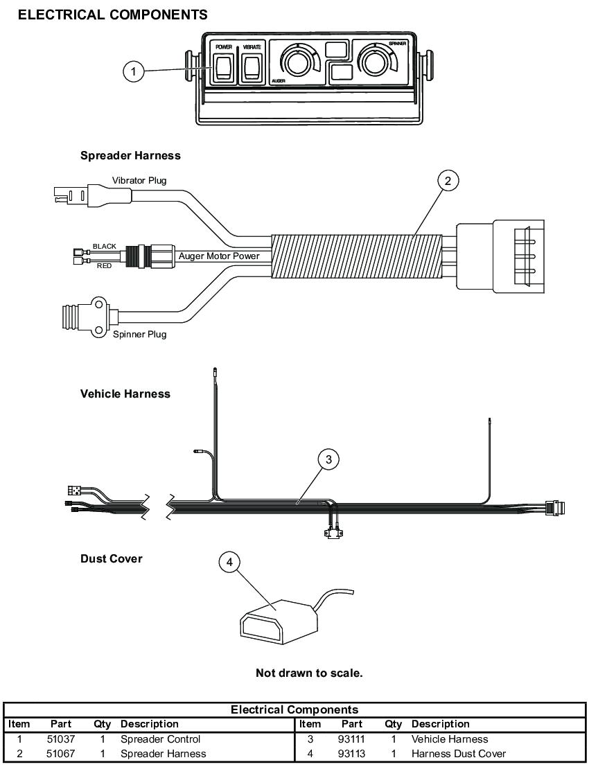 Western Salt Spreader Parts Tornado Wiring Diagram Utv Electrical Replacement 850x1110