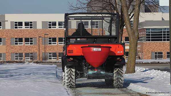 Western LOW-PRO 300W Salt Spreader