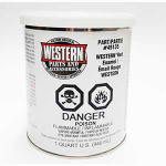 WESTERN RED ENAMEL QUART 49135