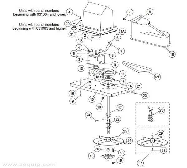 [ZTBE_9966]  Western Model 1000 Drive Parts | Replacement Salt Spreader Parts | Zequip | Western 1000 Salt Spreader Wiring Diagram |  | Zequip