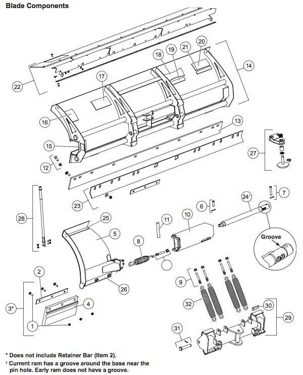 Western Snow Plow Pump Wiring Diagram : Western wide out blade parts zequip